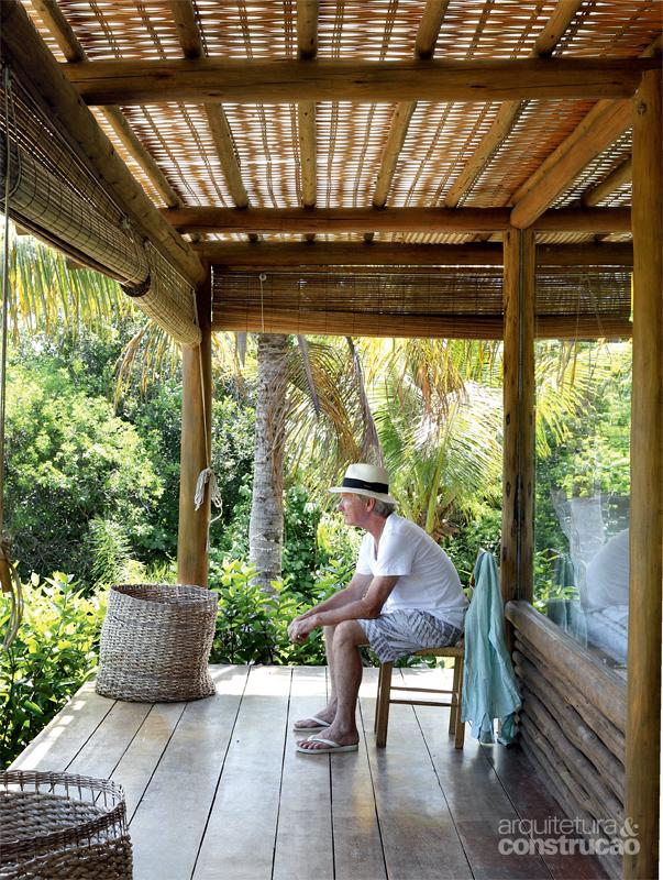tropical house beach with coconut  (4)