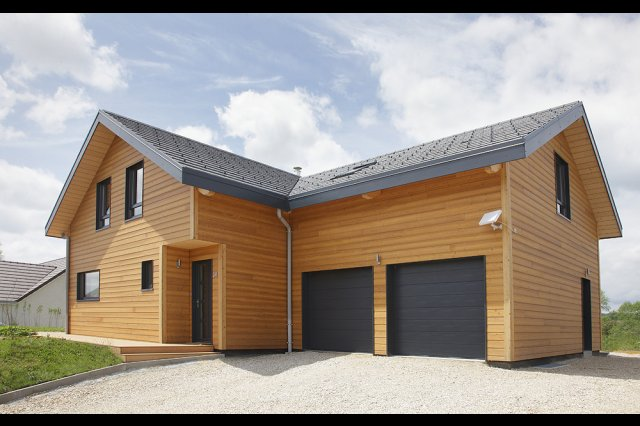 wooden house modern country style (3)