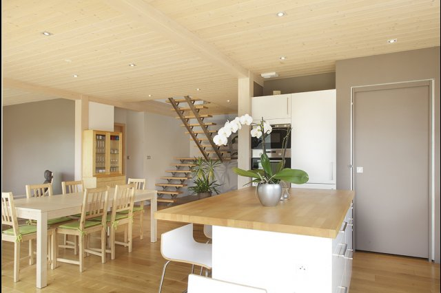 wooden house modern country style (6)