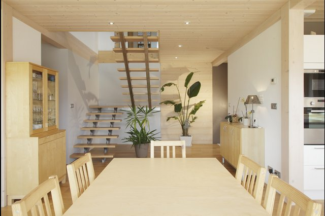 wooden house modern country style (7)
