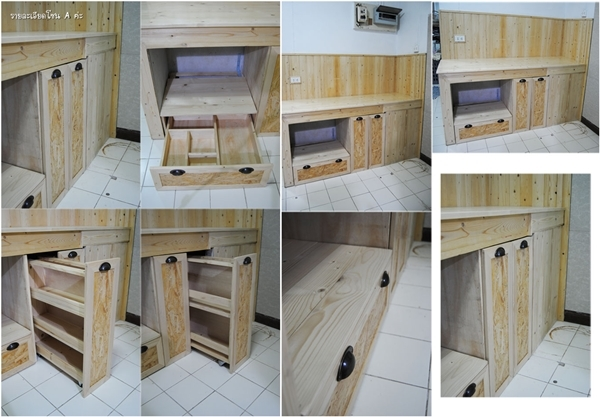 wooden kitchen ambiance renovation (1)