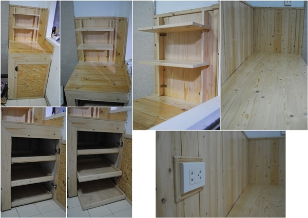 wooden kitchen ambiance renovation (3)