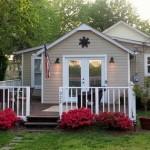 โคโลเนียลคอทเทจ สวยแบบลงตัว บ้านหลังเล็กของคนไอเดียใหญ่