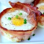 เมนูเด็ด 'คัพไข่ชีสห่อเบคอน' อร่อยได้ทุกมื้อ อย่าไปคิดเรื่องอ้วนเลย ^^