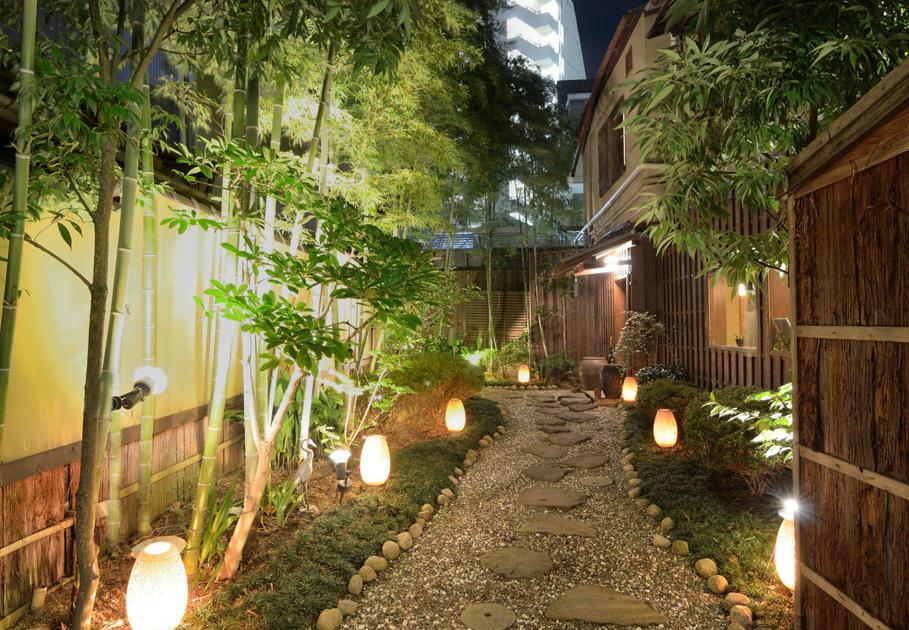40 for 70 bamboo garden design ideas
