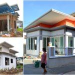 รีวิวบ้านชั้นเดียวสไตล์โมเดิร์น สร้างบ้านในฝันให้เป็นจริงด้วยงบเพียง 600,000 บาท