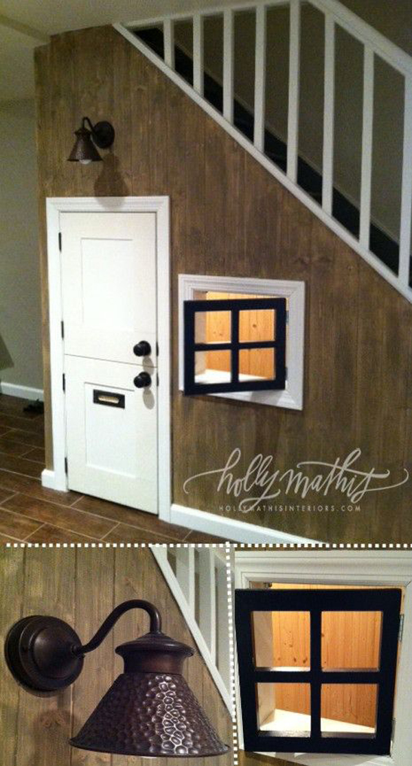 indoor-kids-playhouse-under-the-stairs-decoration