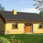 แบบบ้านคันทรีสีเหลืองพาสเทล ความเรียบง่ายบนสไตล์ที่ลงตัว งบราวล้านต้นๆ