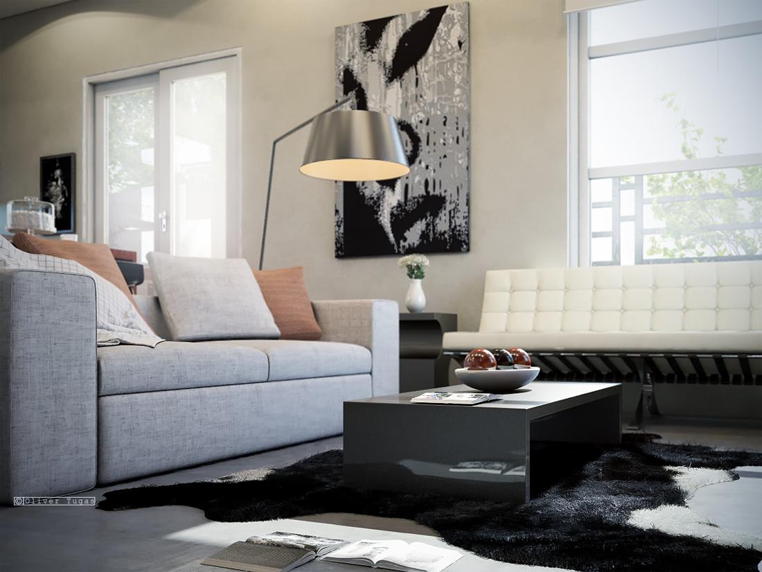 1-floor-contemporary-house-with-industrial-retro-interior (3)