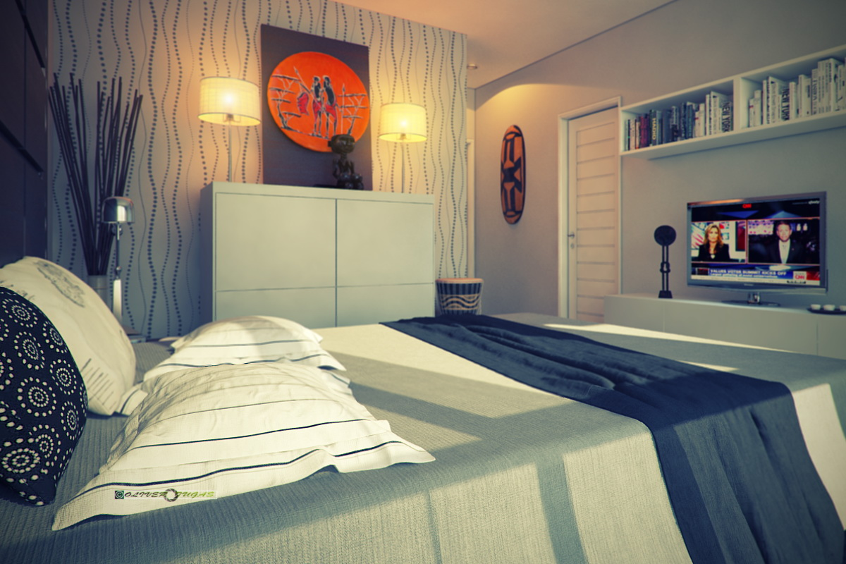 1-floor-contemporary-house-with-industrial-retro-interior (5)