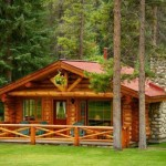 บ้านไม้รัสติค ขนาดกลาง ความสุขของคนรักธรรมชาติ