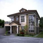 บ้านร่วมสมัยหลังใหญ่ ความภูมิฐานของรูปทรงและวัสดุ รสนิยมที่ดีของคนมีระดับ