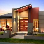 แบบบ้านขนาดกลาง สไตล์โมเดิร์น ความสวยงามที่ลงตัวกับคำว่าครอบครัวสมัยใหม่