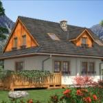 บ้านคันทรี สไตล์บ้านสวน วัสดุและโทนสีเข้ากับธรรมชาติ