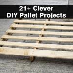 เจ๋งสุด!! รวม 20 ไอเดีย DIY จากไม้พาเลท สำหรับทั้งภายใน และภายนอก