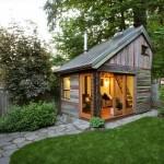 บ้านรัสติคขนาดเล็ก ใช้ไม้ตกแต่งในทั้งหลัง อิงแอบธรรมชาติแบบสุดๆ