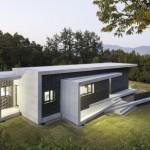 บ้านโมเดิร์นคอนกรีตเปลือย ดีไซน์รูปทรงกล่อง มิติที่สะดุดตาของบ้านสมัยใหม่