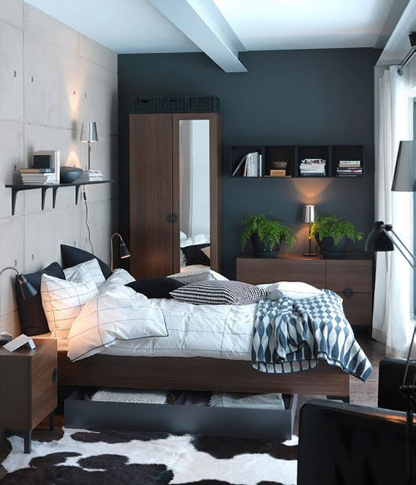 40 inspired bedrooms ideas to increase the size in home (2)
