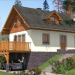 บ้านสวนอิงแอบธรรมชาติ ตกแต่งจากไม้และหิน มาพร้อมกับเฉลียงใต้ถุนสูง