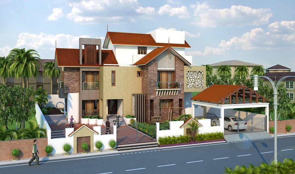 7 open space double storey house designs (2)
