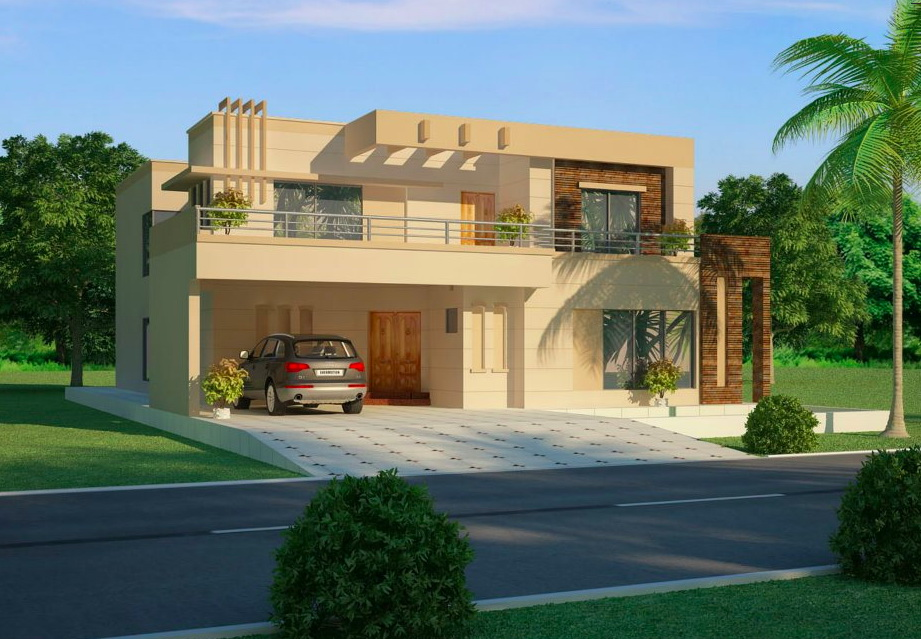 7 open space double storey house designs (5)