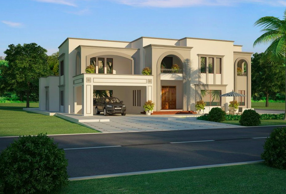 7 open space double storey house designs (6)