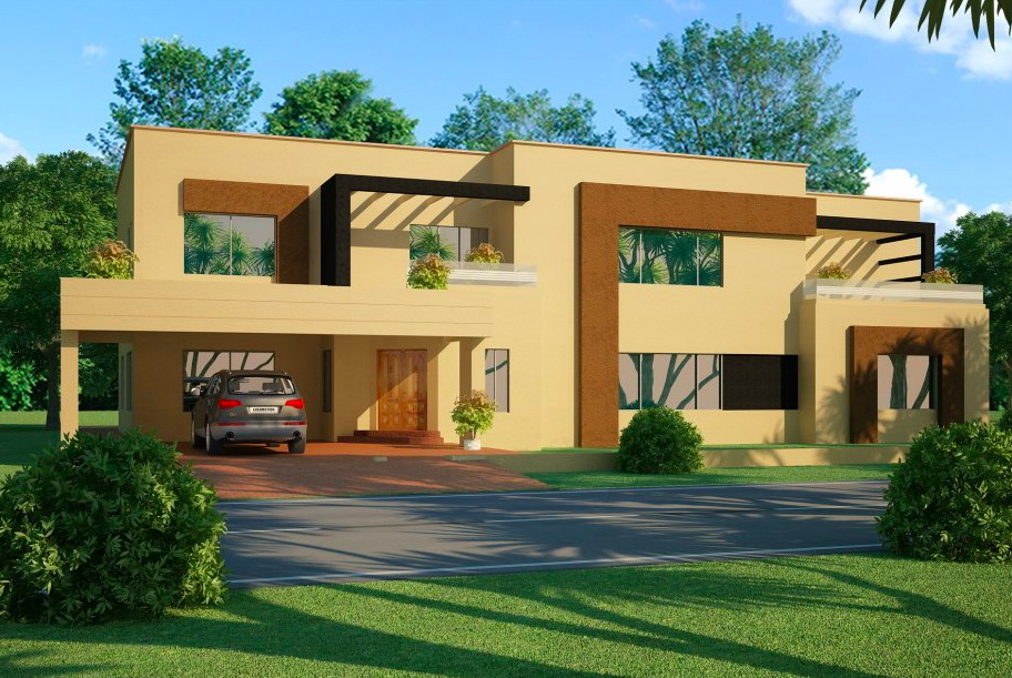 7 open space double storey house designs (8)