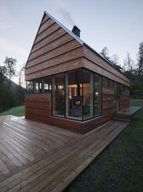 Cabin-Laksvatn-Hamran-Johansen-Arkitekter-Norway-Exterior-Humble-Homes