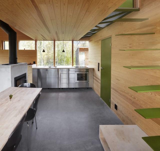 Cabin-Laksvatn-Hamran-Johansen-Arkitekter-Norway-Kitchen-Humble-Homes