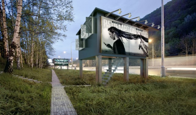 DesignDevelop-Gregory-Project-Billboard-Houses-Homeless-Housing-Exterior-Humble-Homes