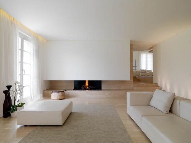 Minimalist-Interior-Tuscany-Italy-Contemporary-Fireplace