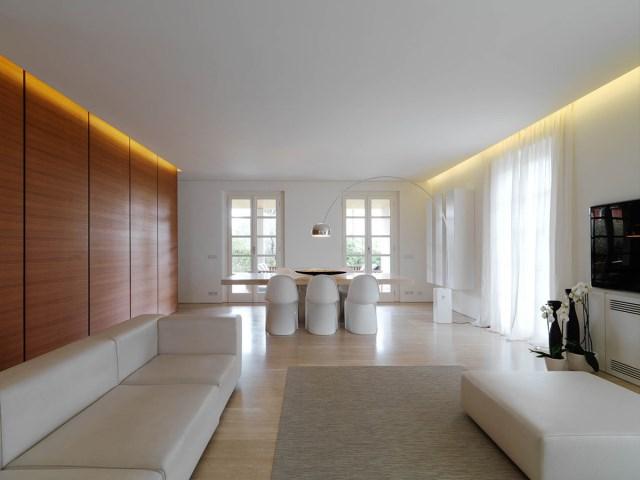 Minimalist-Interior-Tuscany-Italy-Dining-Table-Lighting