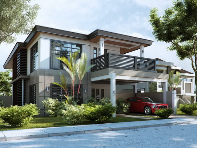 Modern contemporary single family house (1)