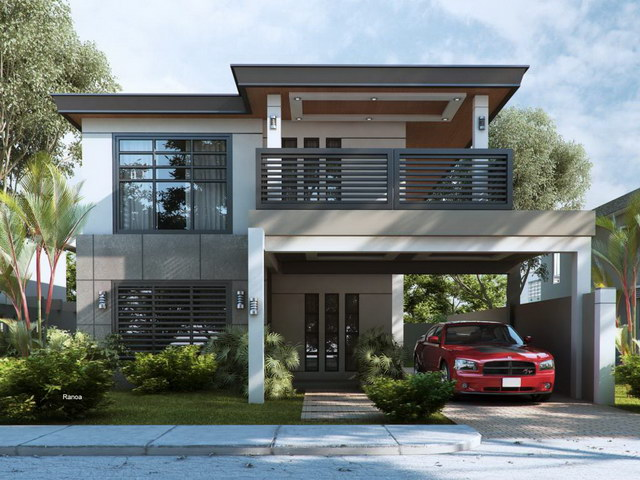 Modern contemporary single family house (2)