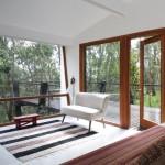 บ้านโมเดิร์นขนาดเล็ก เหมาะกับเป็นบ้านพักตากอากาศ ความสุขที่ซ่อนตัวไปตามธรรมชาติ