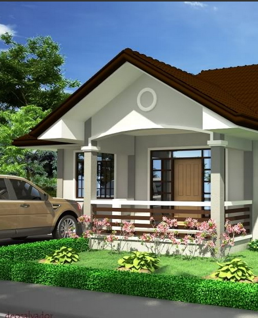 Residential modern gable house_1