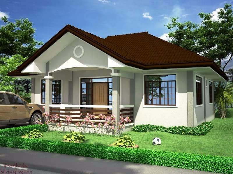 Residential modern gable house_2