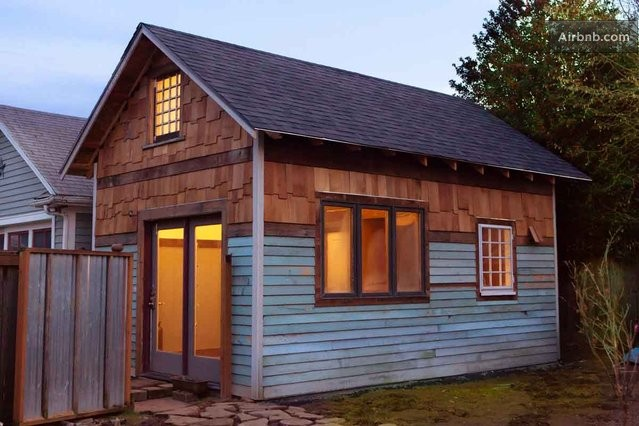 Rustic-Tiny-House-Portland-AirBnB-Exterior-Humble-Homes