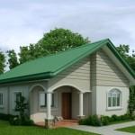 บ้านสไตล์เรียบง่าย หลังคาทรงจั่ว ร่มเย็นและสบายตาในโทนสีธรรมชาติ