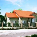 บ้านชั้นเดียวหลังคาทรงจั่ว บนแนวคิดความสุข ของครอบครัวคนไทยสมัยใหม่