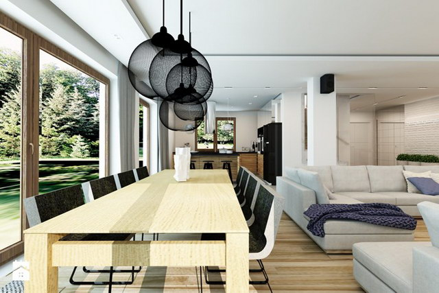White Spectacular modern house (10)