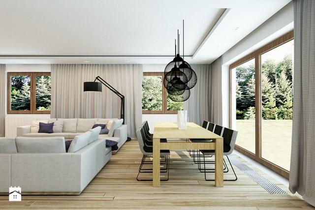 White Spectacular modern house (4)