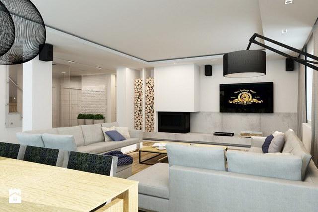 White Spectacular modern house (6)