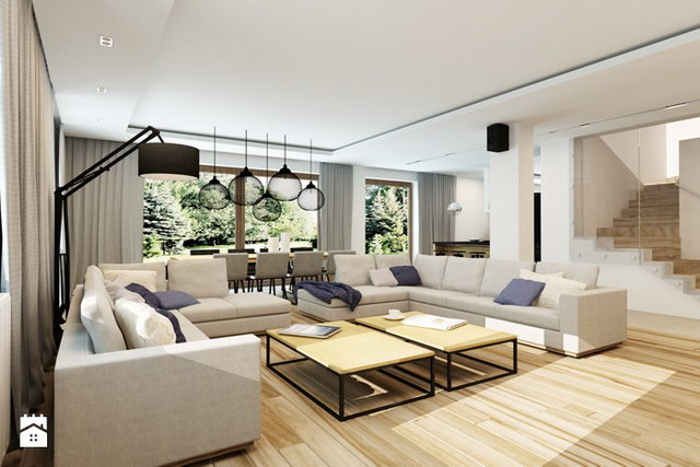 White Spectacular modern house (8)