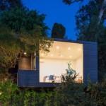 บ้านตากอากาศ รูปทรงโมเดิร์น ความสุขขนาดใหญ่ ของบ้านขนาดเล็ก