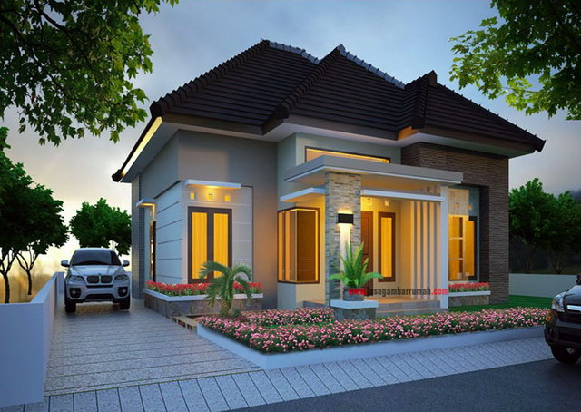 affordable small luxury house for couple (1)