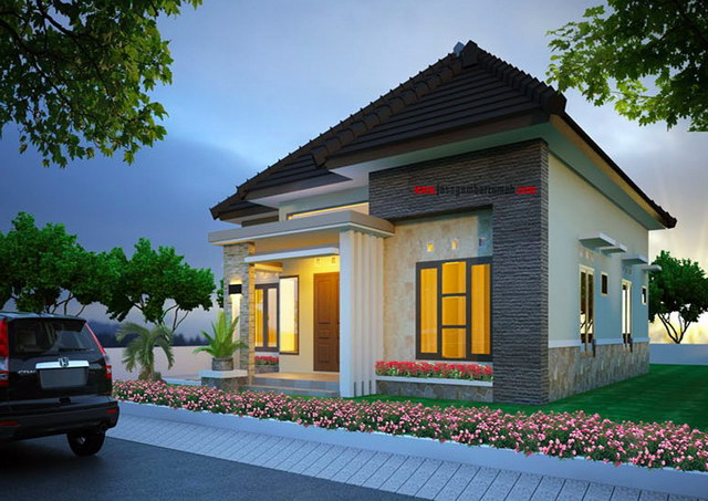 affordable small luxury house for couple (2)