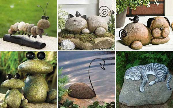 animal-DIY-garden-rock-and-stones