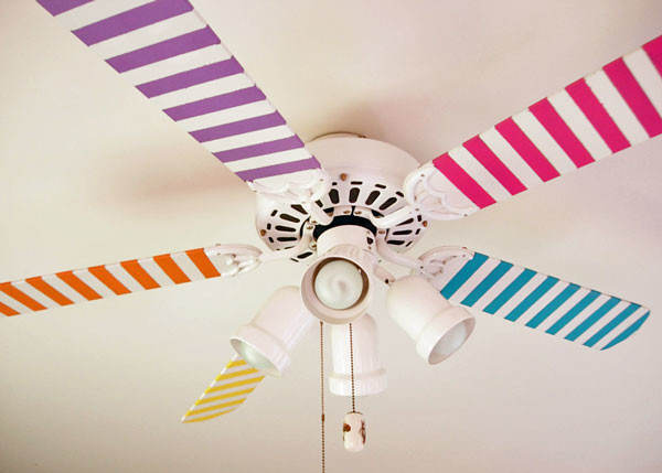 awesome-washi-tape-ceiling-fan-ideas