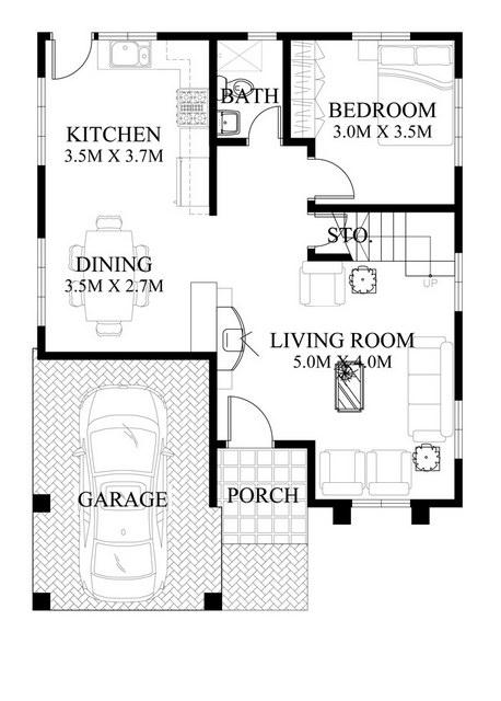 contemporary 2 storey house with impressive design (1)